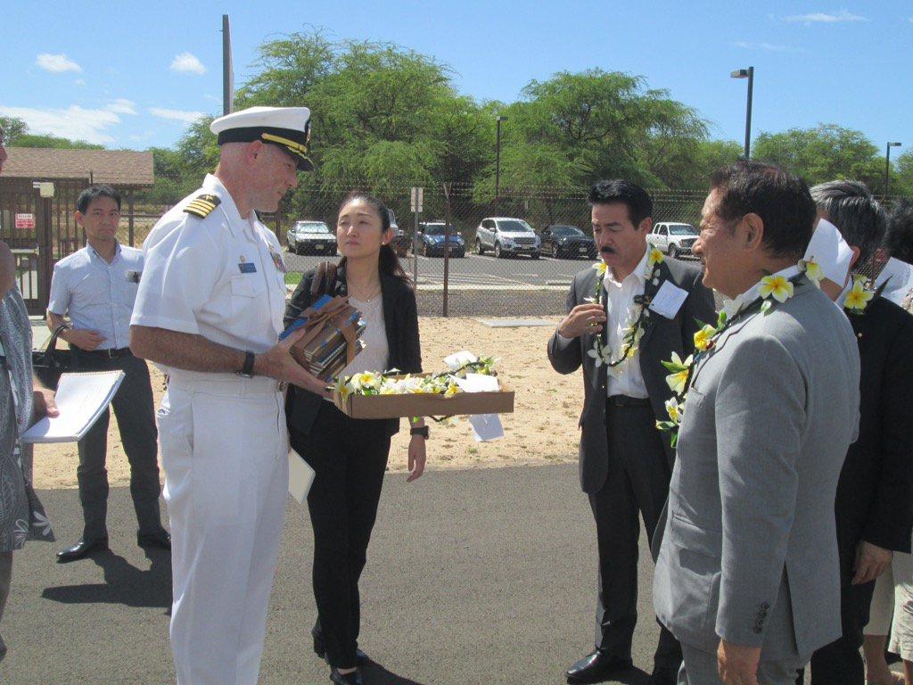 【ハワイ州カウアイ島の「陸上型イージス」視察意見交換】 日米外務防衛相会談で、自衛隊の役割分担を増やし同盟の強化・実を上げることで合意。来年度予算で陸上型イージス検討予算もその一環。太平洋ミサイル実験射場(PMRF)を訪問。