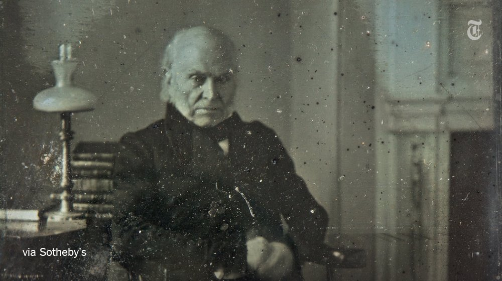 The oldest surviving photograph of a U.S. president has surfaced https://t.co/zgEwCuxssi