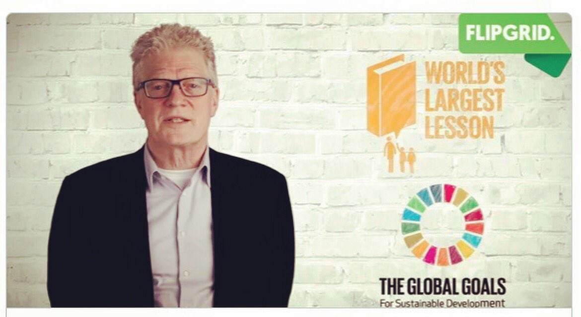 How do you #TeachSDGs? Join @sirkenrobinson on @flipgrid &amp; share your successes &amp; ideas! @TheWorldsLesson RT  http:// flipgrid.com/globaleducator  &nbsp;  <br>http://pic.twitter.com/gnF7bRZE2W