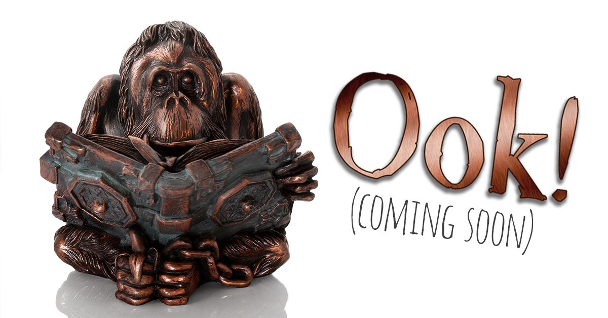 What better day than #InternationalOrangutanDay to enjoy a first l-Ook at our forthcoming Discworld figurine! #Blog  https:// goo.gl/6zZ4tg  &nbsp;  <br>http://pic.twitter.com/pDSEkTWtKd