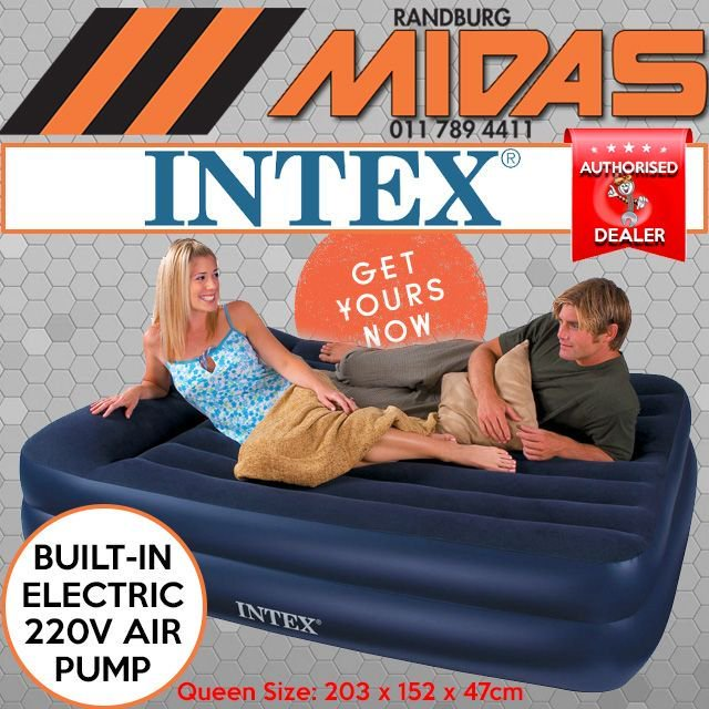 Purchase the #incredible &amp; #bestselling @intexrecreationcorp queen size pillow rest #airbed with built in pump  http:// bit.ly/2uPH3HZ  &nbsp;  <br>http://pic.twitter.com/au5dCHo1rn