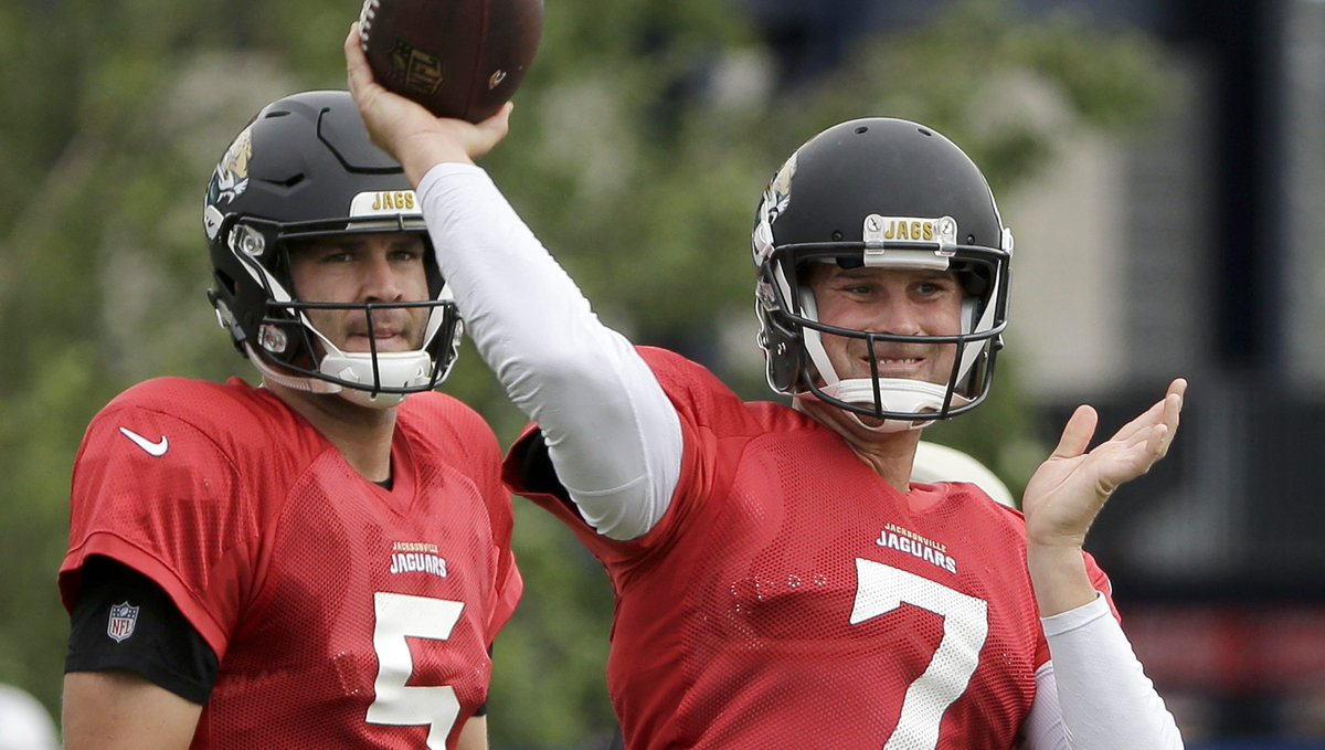 Blake Bortles' contract may force Jaguars to go with Chad Henne https:...