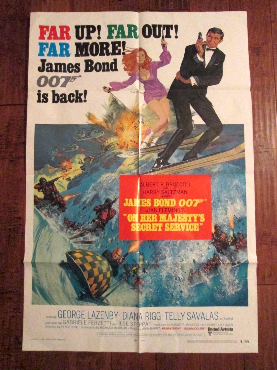 #OHMSS: Perhaps my favorite #JamesBond film and a great #onesheet #movieposter on EBAY:  https:// rover.ebay.com/rover/1/711-53 200-19255-0/1?icep_id=114&amp;ipn=icep&amp;toolid=20004&amp;campid=5337982451&amp;mpre=http%3A%2F%2Fwww.ebay.com%2Fitm%2FOn-Her-Majesty-s-Secret-Service-1970-1-Sheet-Movie-Poster-James-Bond-%2F202006475095%3Fhash%3Ditem2f08863157%3Ag%3AJ4cAAOSw1BlZWdqO &nbsp; … <br>http://pic.twitter.com/jxDH2cL9SO