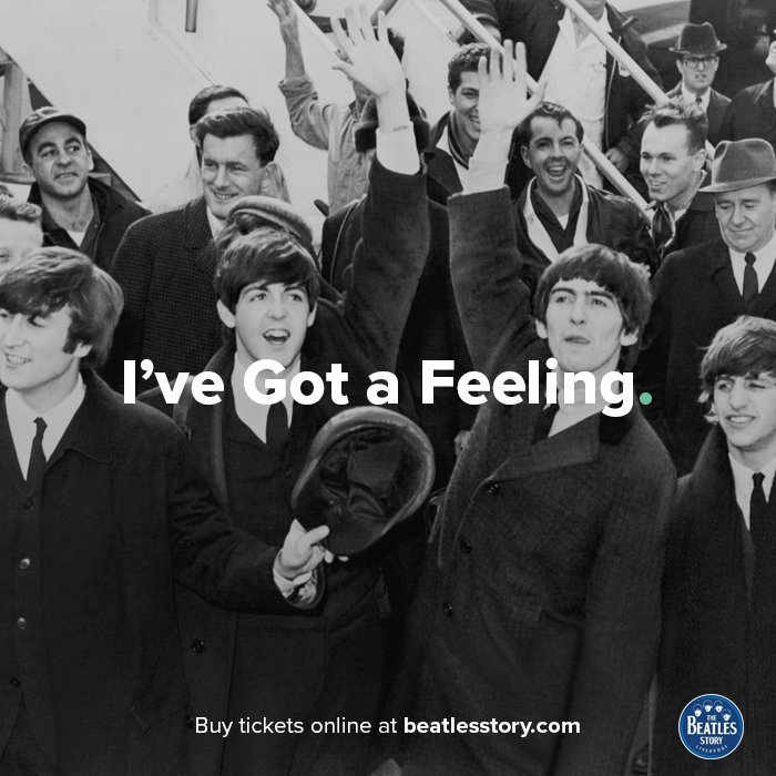'I've got a feeling, a feeling deep inside, oh yeah!' #FridayFeeling #...