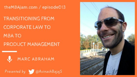 @MAA1 describes his journey from Law to Product Management post-MBA @durham_uni @DUBusSchool #MBA #Prodmgmt #Law  http:// bit.ly/tmj013-o  &nbsp;  <br>http://pic.twitter.com/VDRNQuuVB4