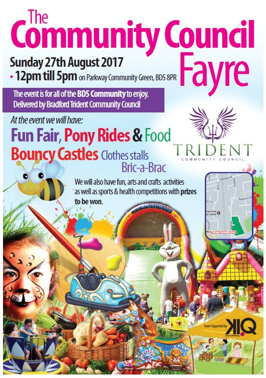 Day of fun and activities coming up this #bankholiday in #BD5 #Bradford for all the #community. Pop the date in your diary ...<br>http://pic.twitter.com/p1hCMno1Dr