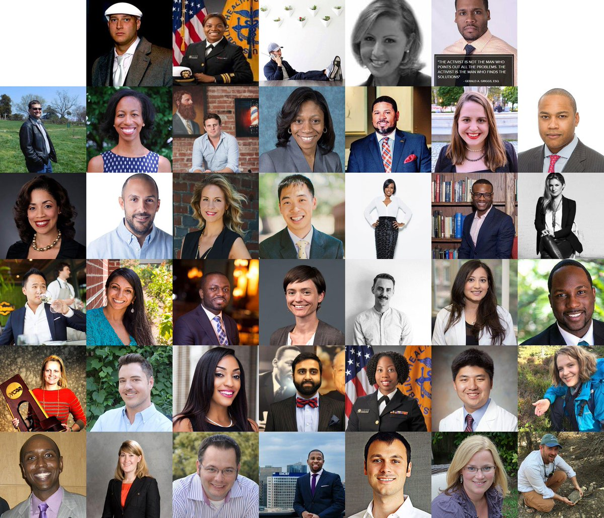 Honored to be included among the ranks of these #emoryalumni superstars!