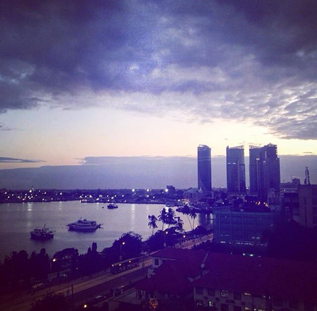 #Tanzania: Dar es Salaam after Sunset!  Happy weekend all... Photo: nextstoptanzania <br>http://pic.twitter.com/W2q5jt9lAM