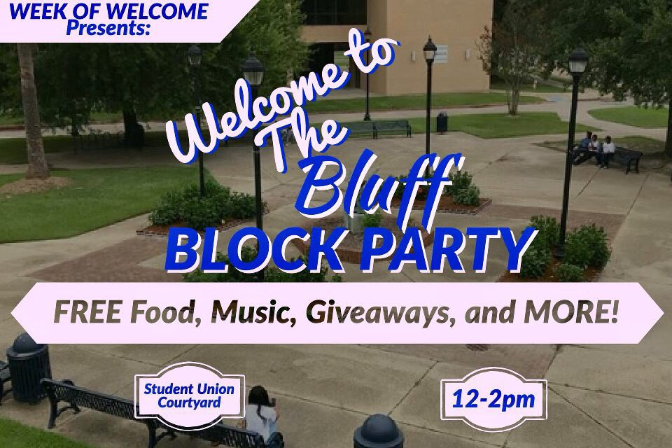#SU please join us today from 12-2pm for the Block Party/Resource Fair!!  DJ ,Free giveaways, food, photobooth &amp; much more! #SU21 #TeamSU<br>http://pic.twitter.com/wgzCdhpcww