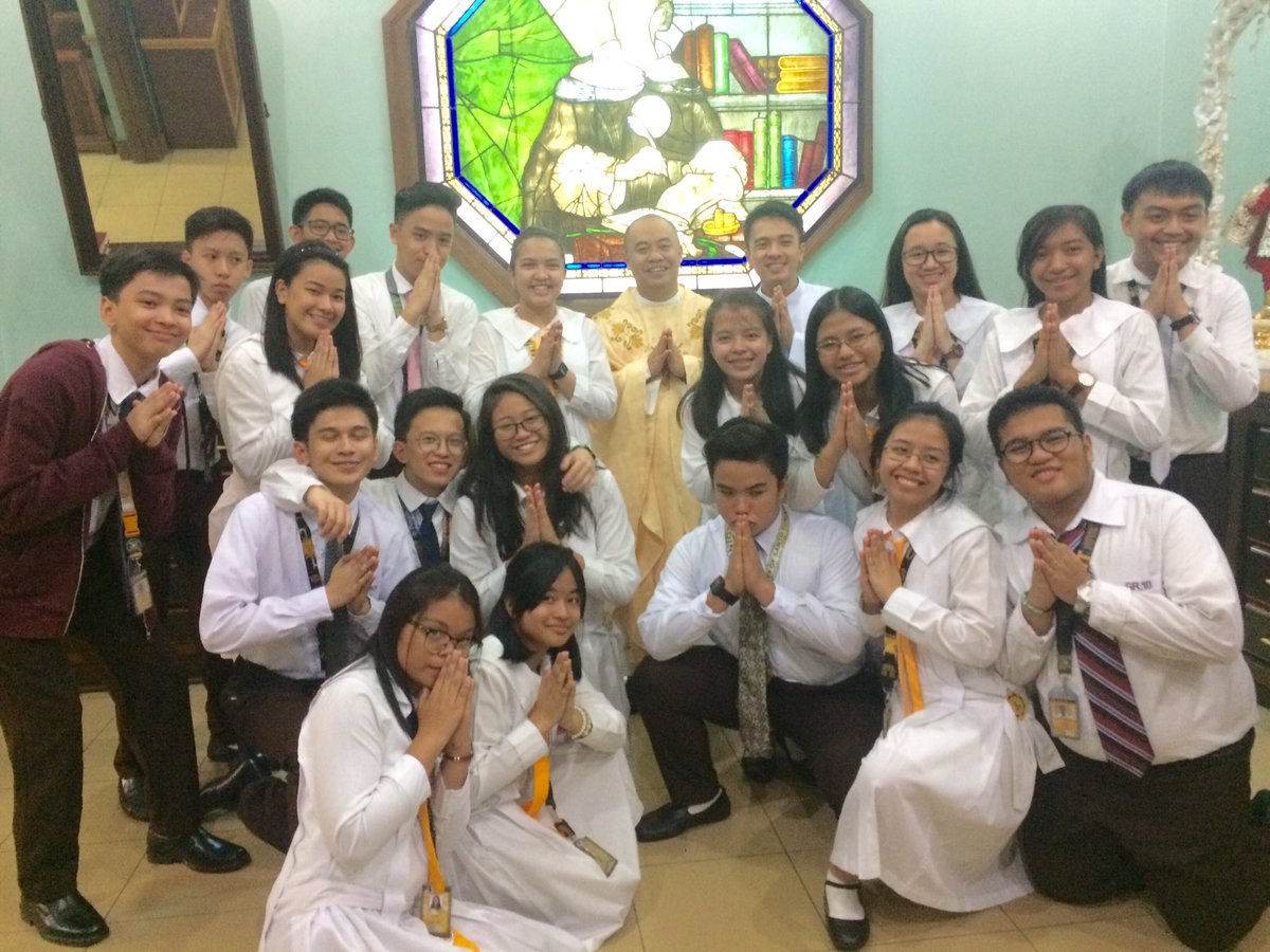 With our Regent, Fr. Rodel Cansancio O.P.  #BlessedMannesFeastDay #SCA <br>http://pic.twitter.com/md8oAD816f