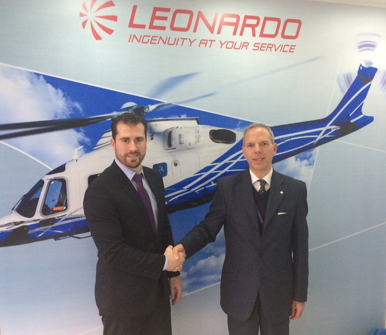 Happy to expand our relationship with @leonardo_live &amp; offer high quality helicopter training on the CAE-built AW139 FFS.#LABACE2017 #bizav <br>http://pic.twitter.com/ssvy4VRAi9