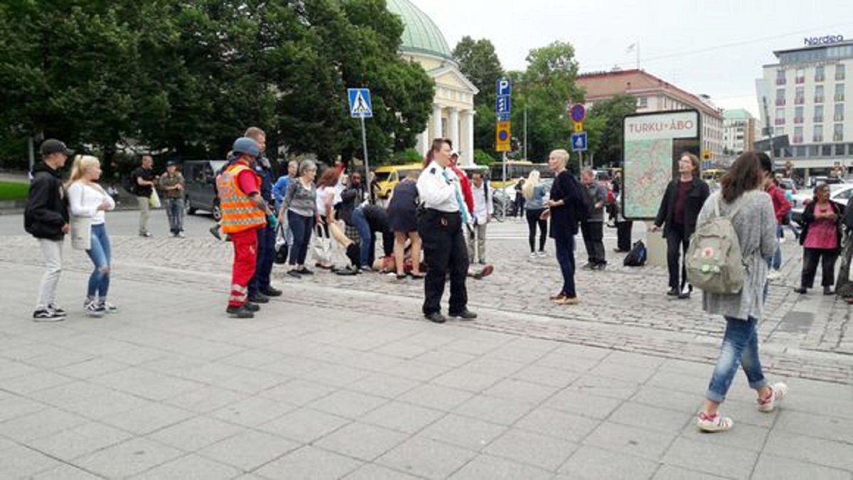 Several people #stabbed in #Finnish city...
