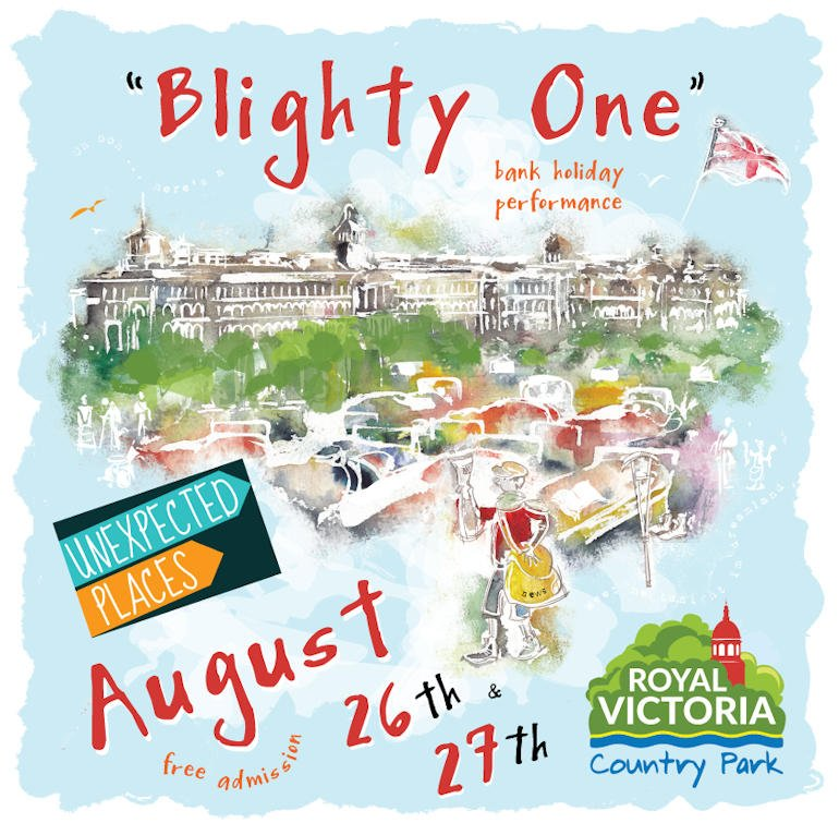 Only a week to go until we uncover @RoyalVictoriaCP&#39;s military heritage in our free #bankholiday show, Blighty One.  http:// bit.ly/2fS7fvo  &nbsp;  <br>http://pic.twitter.com/LnE70rH7XY