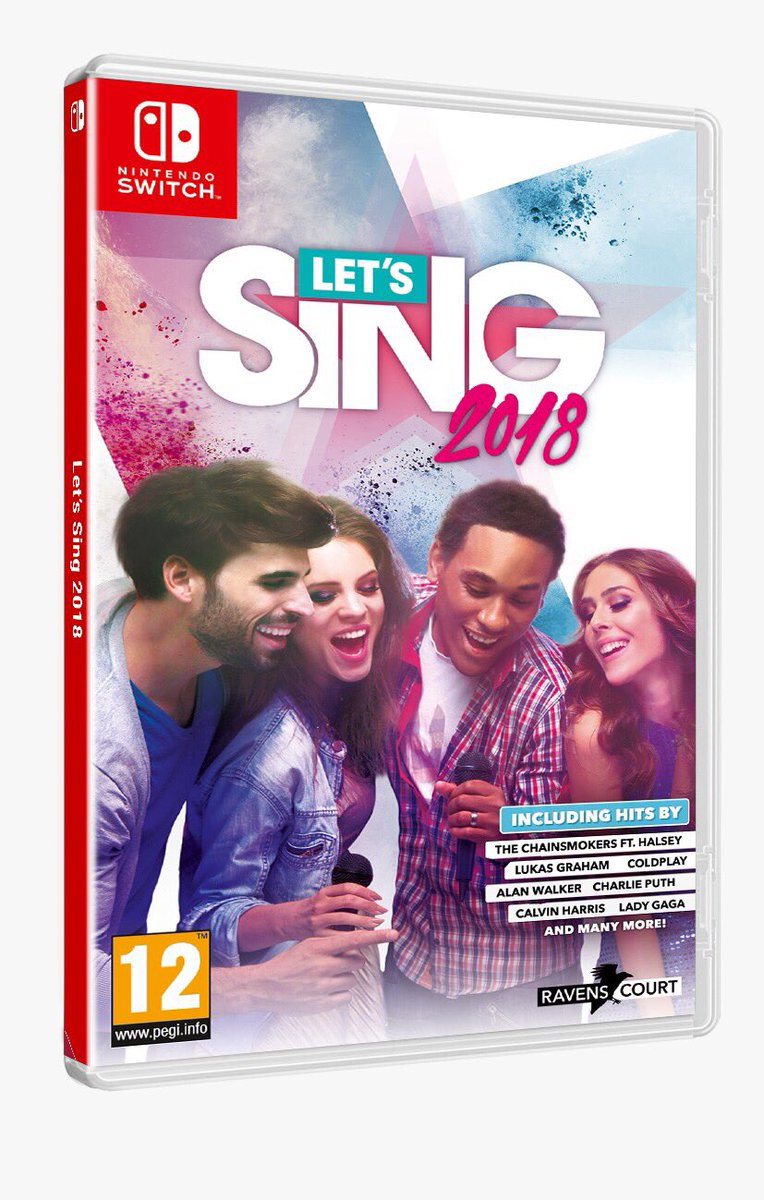 lets sing, wii, wiiu, switch