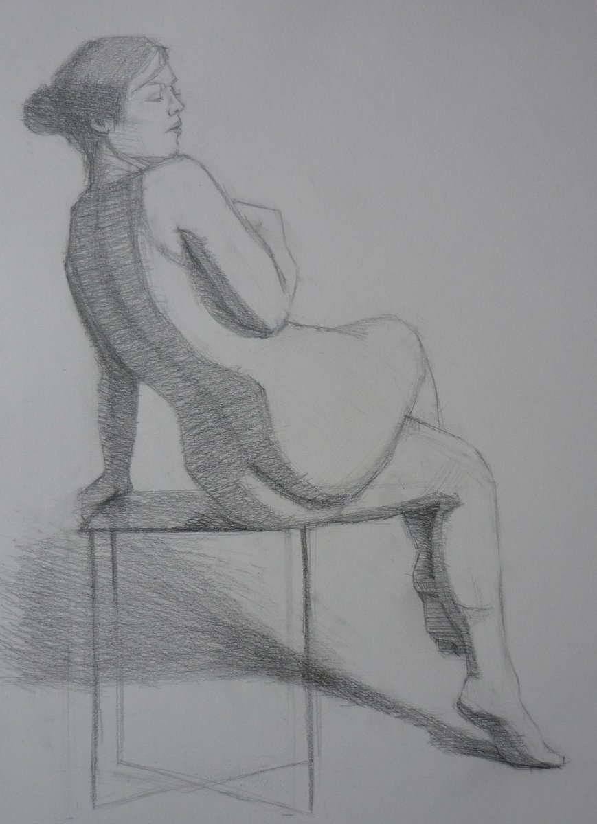 Progressing with this figure study    #pencil #drawing #art #drawingaugust #figure <br>http://pic.twitter.com/9YGrl2ig5V