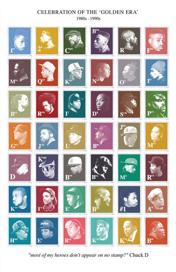 "&quot;Most of my heroes dont appear on no stamp"" Chuck D &gt;&gt;  http://www. madina.co.uk/shop/prints-2/ golden-era-hip-hop-stamps-print &nbsp; …  &lt;&lt; Lyrically inspired #hiphop #design<br>http://pic.twitter.com/LFUA9oqb1l"