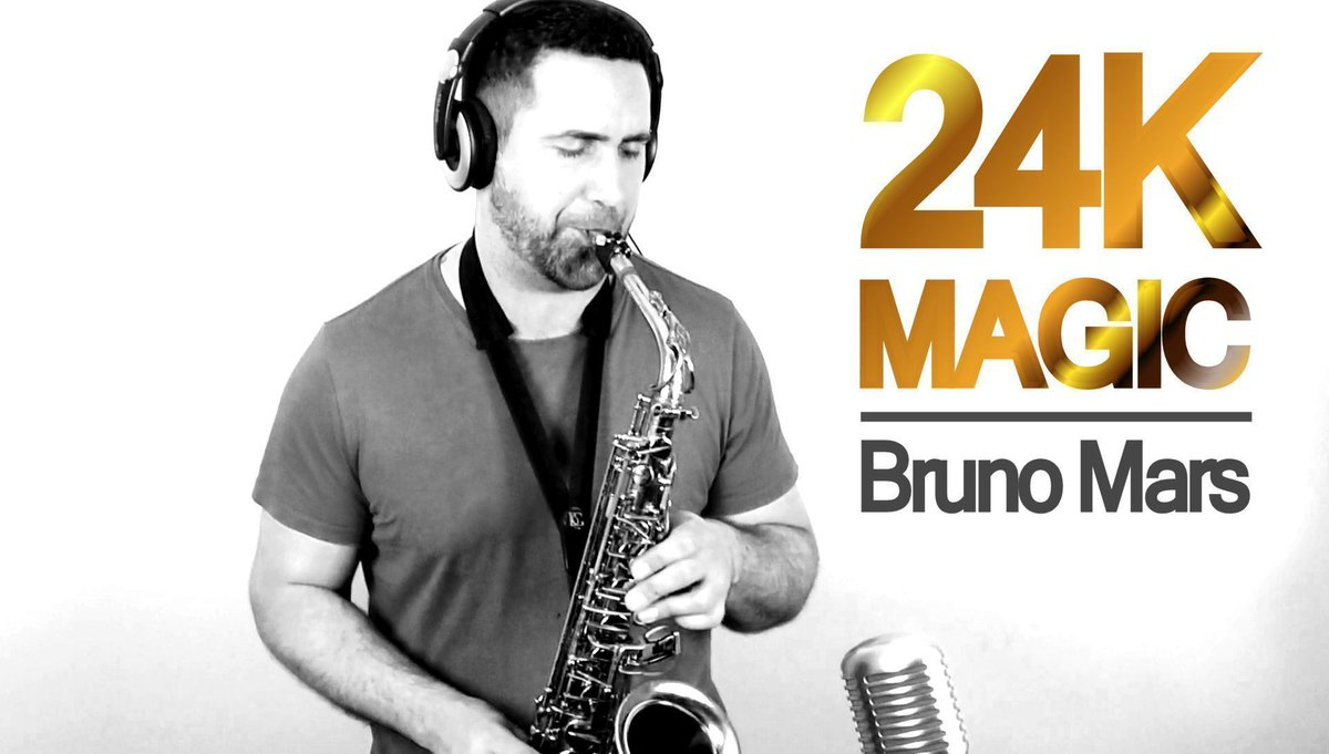 RECENT #SAXCOVER! #BrunoMars #24kMagic @BrunoMars #SaxCover #Saxophone #Funky #Friday Subscribe for more! :D  https:// buff.ly/2vOnOfL  &nbsp;  <br>http://pic.twitter.com/9u6ApM6eYC