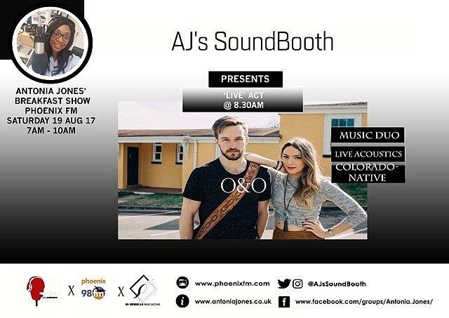 Summer isn&#39;t over yet! something #new @AJsSoundBooth  presents @oandoduo 2morrow @phoenixfm #live #acoustic #newmusic #americiana #pop CU @7<br>http://pic.twitter.com/hAOP5P1VkJ