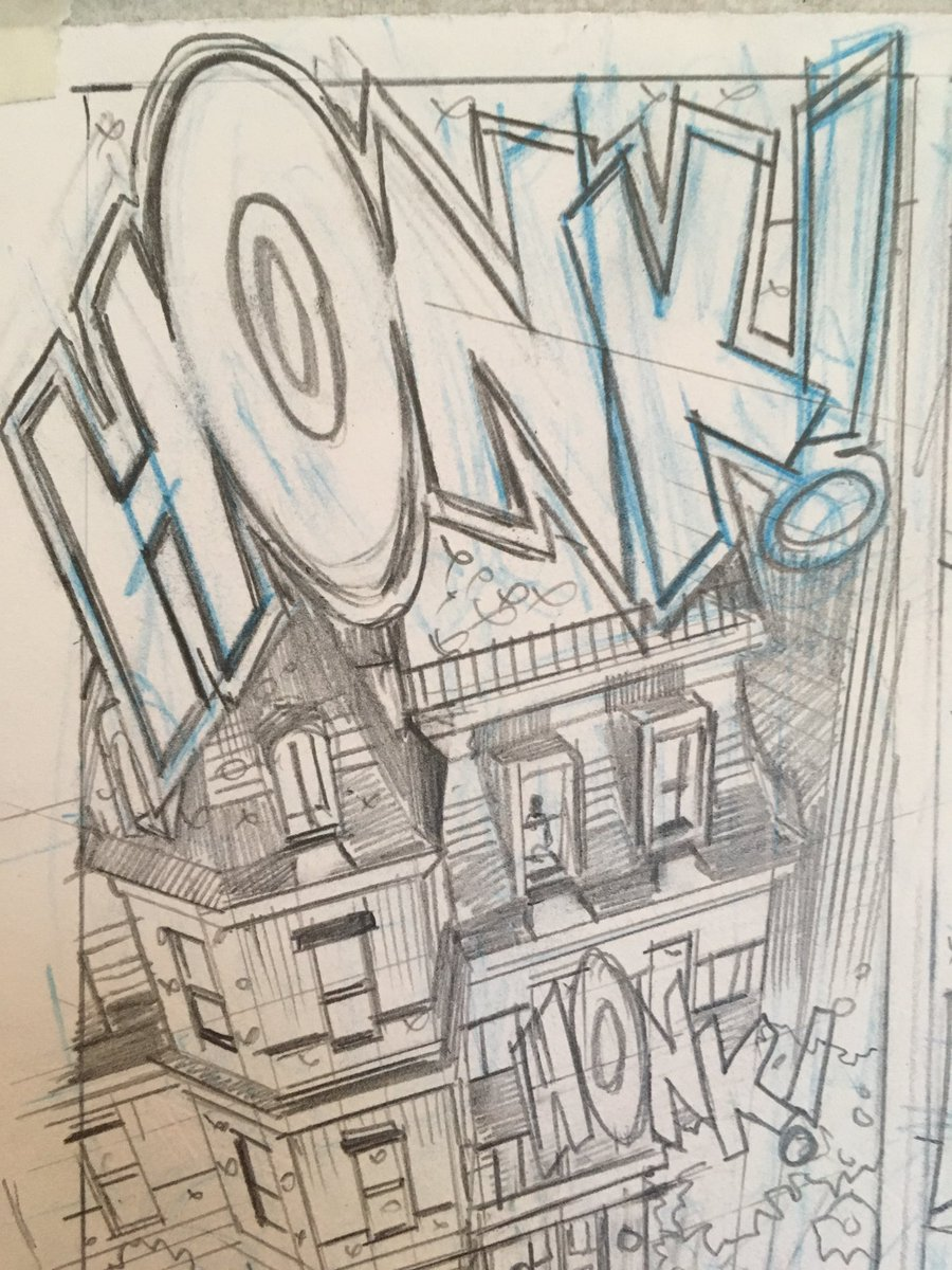 I love doing Sound FX in comics!  #Adventureman! #pencils #MattFraction #RachelDodson #comingsoon #WorkinProgress #SFX <br>http://pic.twitter.com/g5OdlVe1KH