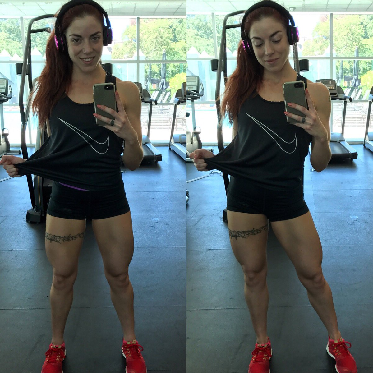 Quads popping for me after cardio! #fitness #quads #cardio #myfitstyle<br>http://pic.twitter.com/yYnxWcRCbg