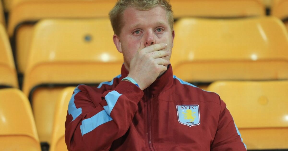 When villa fans realise it's the wrong B...