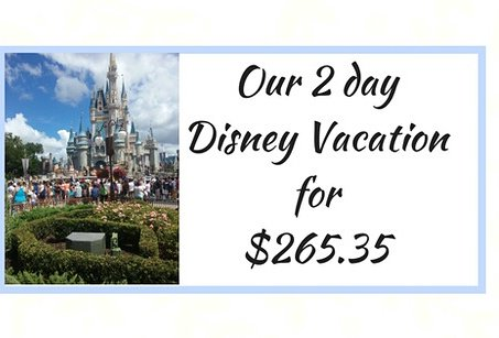 Want to know how click 》 https://www. thecreativesahm.com/single-post/20 17/08/17/Our-2-Day-Disney-Vacation-for-26235-dollars &nbsp; …  @WaltDisneyWorld #disney #vacation<br>http://pic.twitter.com/E820uzs185