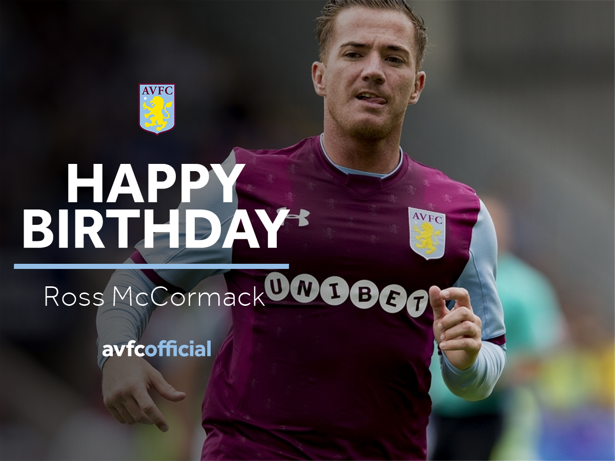 🎉 Today we're wishing a happy birthday to Ross McCormack...  Enjoy the...