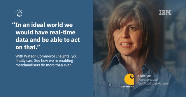 From @IBMcommerce: Carhartt Grows #Online Sales with IBM Watson Commerce. #retail #commerce #WatsonCommerce  http:// bit.ly/2xb0kRu  &nbsp;  <br>http://pic.twitter.com/4dtu1rLYlX