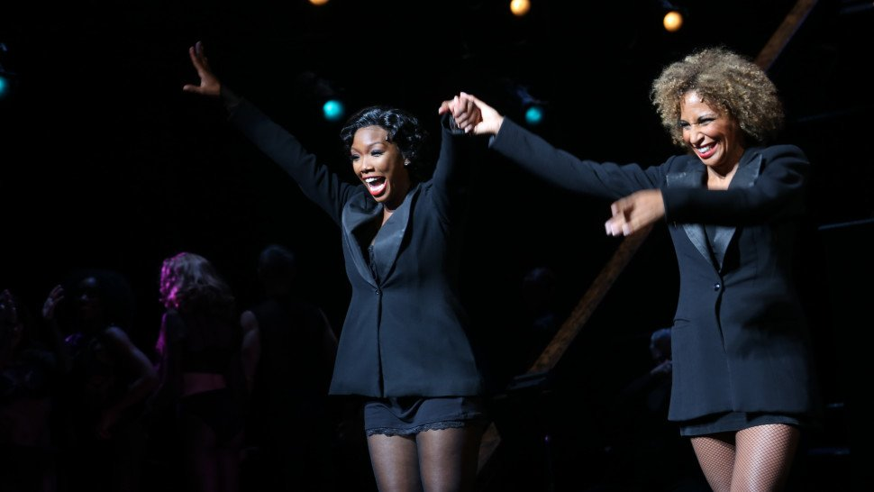 Isn't it grand, isn't it great? @4everBrandy has returned to @ChicagoM...