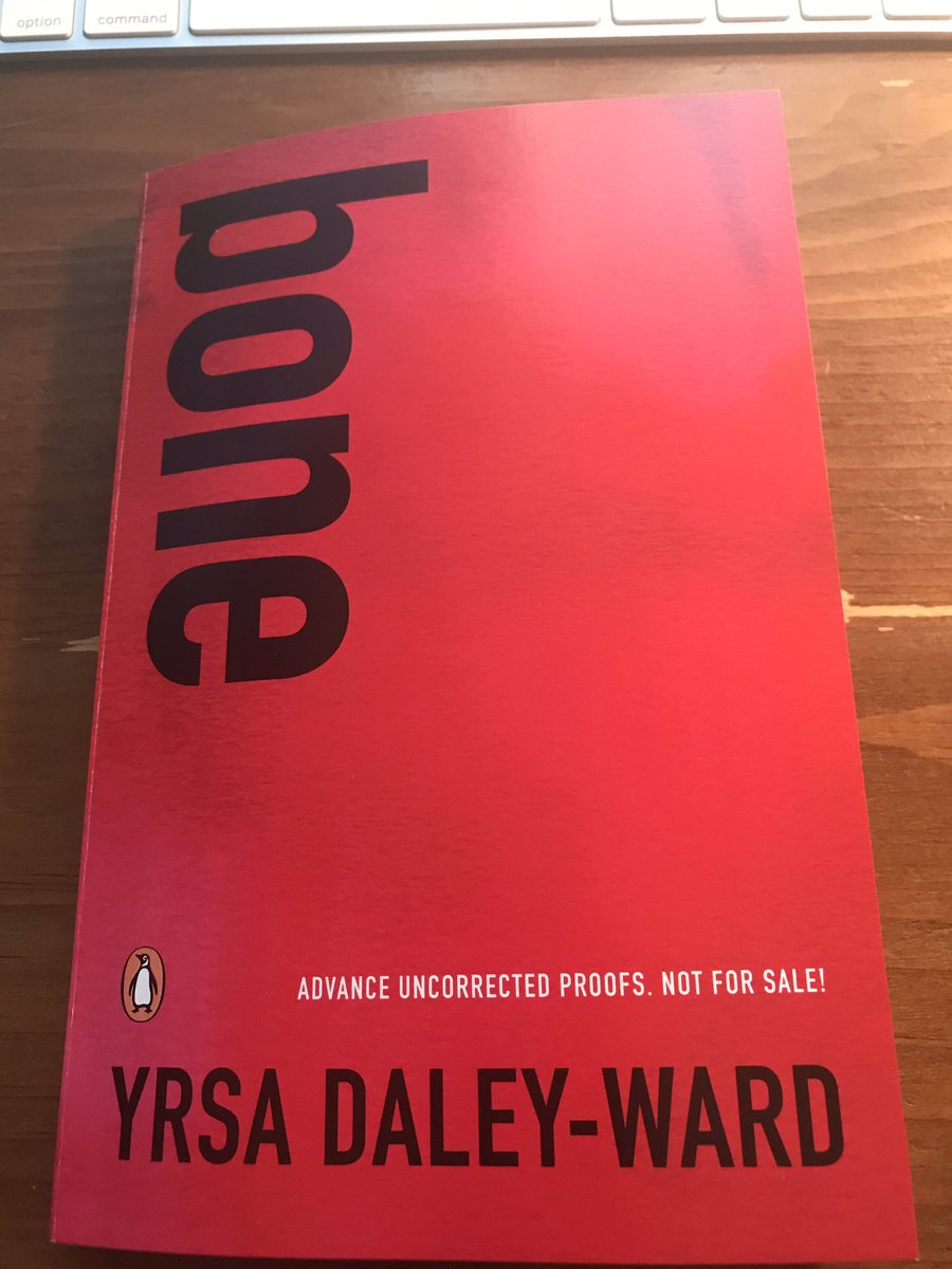 My #FridayReads is BONE by @YrsaDaleyWard @penguinrandom because of po...