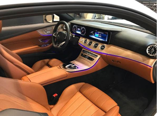 Mb Of Burlington On Twitter We Love The Saddle Brown Leather Interior On This 2018 E 400 4matic Coupe