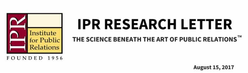 Did you miss this week&#39;s #PR #research letter? Features @ana_adi @DrDGL @melissawz @WEcomms @UFJSchool @aechristiano  https:// buff.ly/2w5eF5b  &nbsp;  <br>http://pic.twitter.com/nA9FJ0XFUS