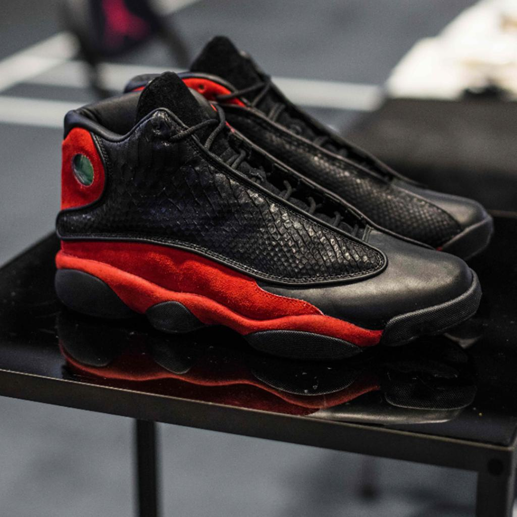 f6ff94e1 We're partnering with @Jumpman23 to give you the chance to win a pair of  custom 13's from @TheShoeSurgeon. DETAILS: http://bit.ly/2v7VuD9  pic.twitter.com/ ...