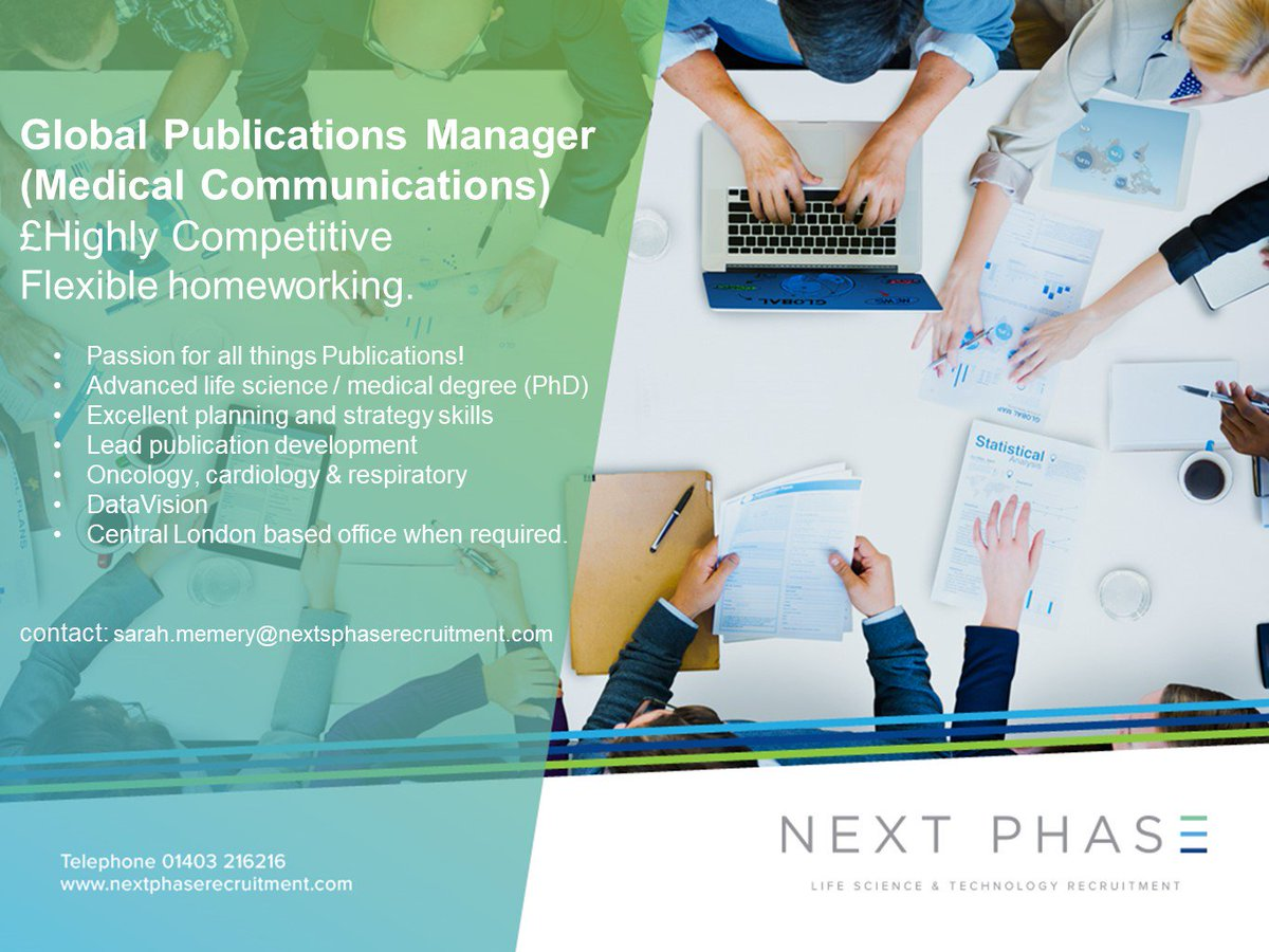 @memery72 has a great new role for an outgoing publications project manager, flex working, exceptional ££ #medcomms  http:// bit.ly/2vStDM3  &nbsp;  <br>http://pic.twitter.com/6JDXzglWIu