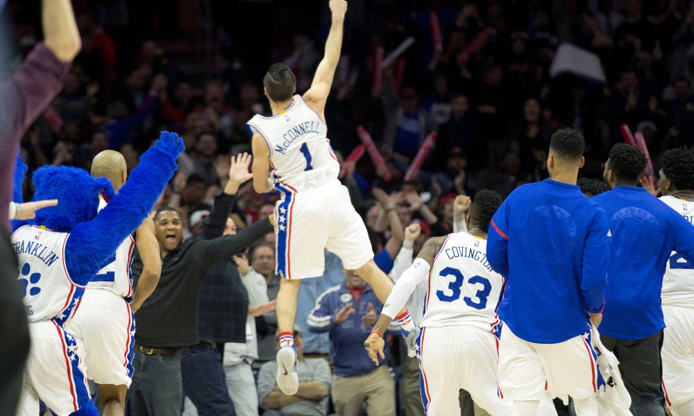 TJ McConnell voted as Sixers' Best Teammate @TheNBPA #PlayersVoice https://t.co/2MybwVcaPm