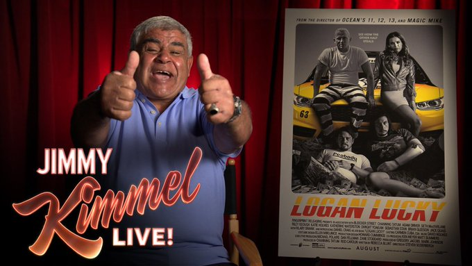 Our movie critic Yehya reviews #LoganLucky. We think he liked it! https://t.co/PTyXtS9KDu
