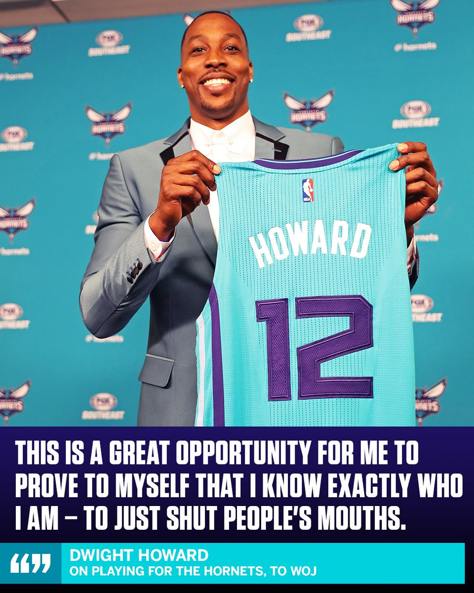 Dwight Howard is looking to prove people wrong. https://t.co/TqLMDWxcu...