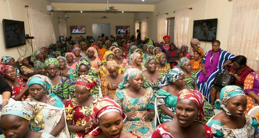 Released Chibok girls ready for educatio...