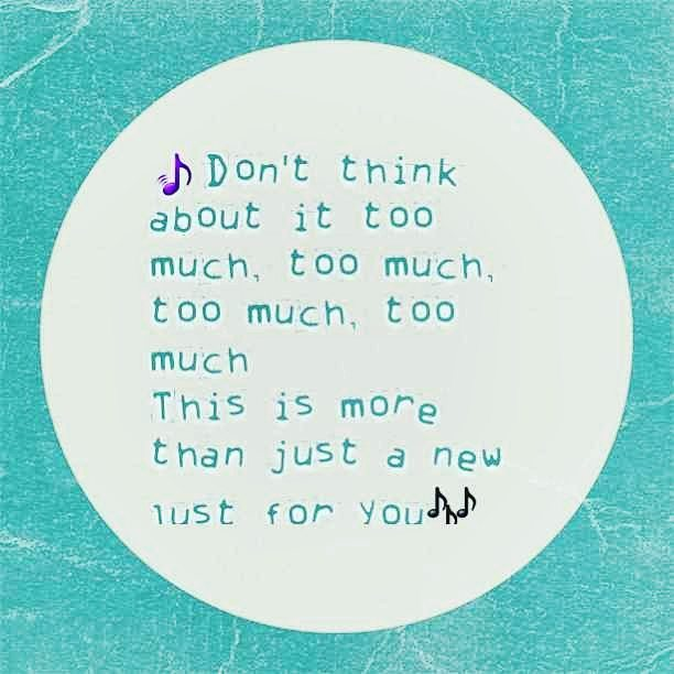 Don&#39;t think about it too much, #too much, too much, too much This is more than just a new #lust for you!  #drake  http:// ift.tt/2w9qwyU  &nbsp;  <br>http://pic.twitter.com/w7SyWQpMZq
