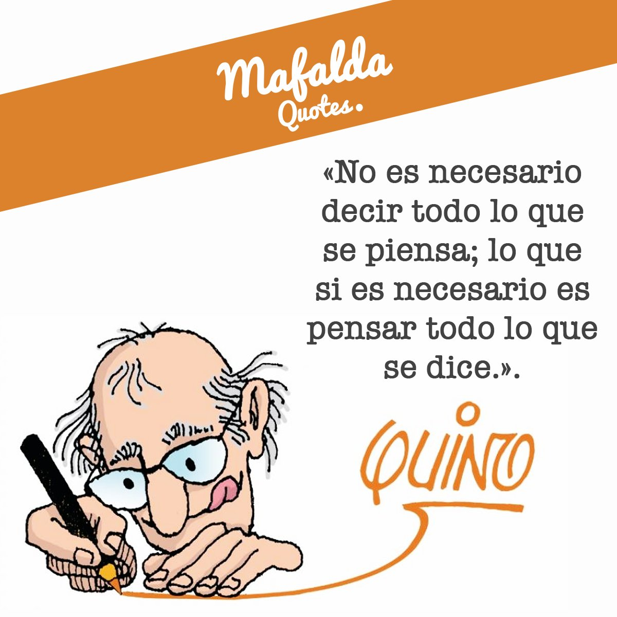 Buen punto, mejor pensar lo que decimos antes de decir una barbaridad  #Mafalda  #book #read #socialenvy https://t.co/N9OezYN7rI