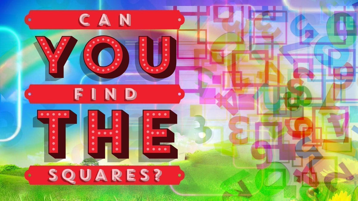 https:// buff.ly/2x9uq7O  &nbsp;     Can You Find The Squares  #fun #games #maths #quiz #logic #youtube #video  1,000 <br>http://pic.twitter.com/5aYCWxFEyG