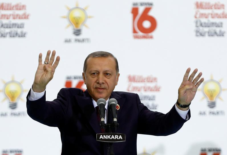 Erdogan tells Turks in Germany to vote a...