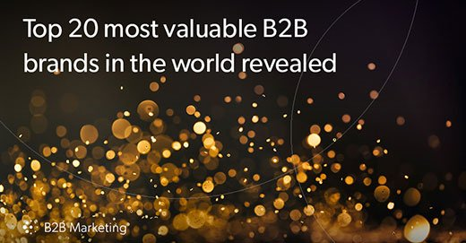 Microsoft named as world's most valuable B2B brand.  See full list: https://t.co/53JDWymacu  #branding #news https://t.co/0F9G1sv2aR