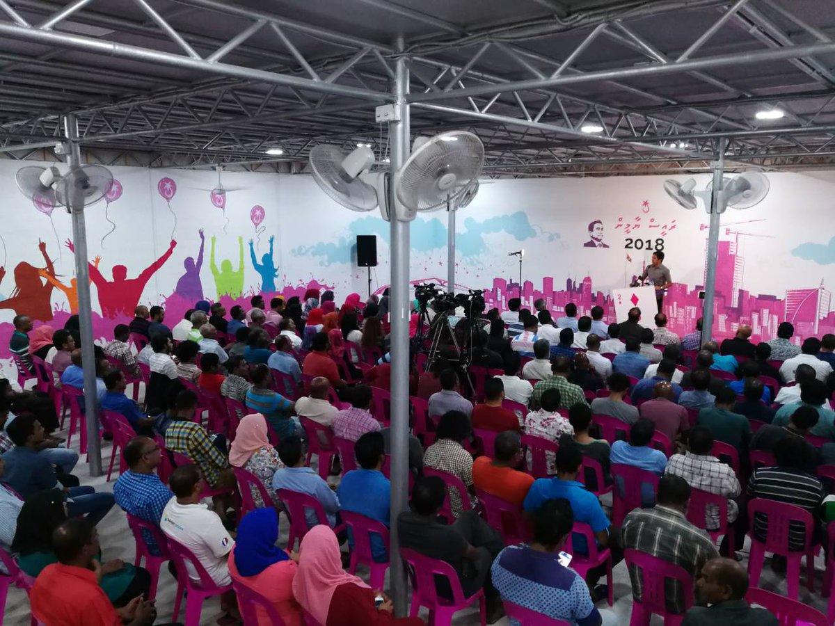 #Live Happening Now... #Rumaalu2 #TharageeAaEkRayyithun  #RY2018 In Sha Allah<br>http://pic.twitter.com/TkyK0huKgk