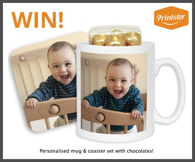 Love #personalised #gifts?! Want to win a mug &amp; coaster set for yourself or a friend? Just RT and Follow to enter #competition<br>http://pic.twitter.com/GjZ4UUN8fH