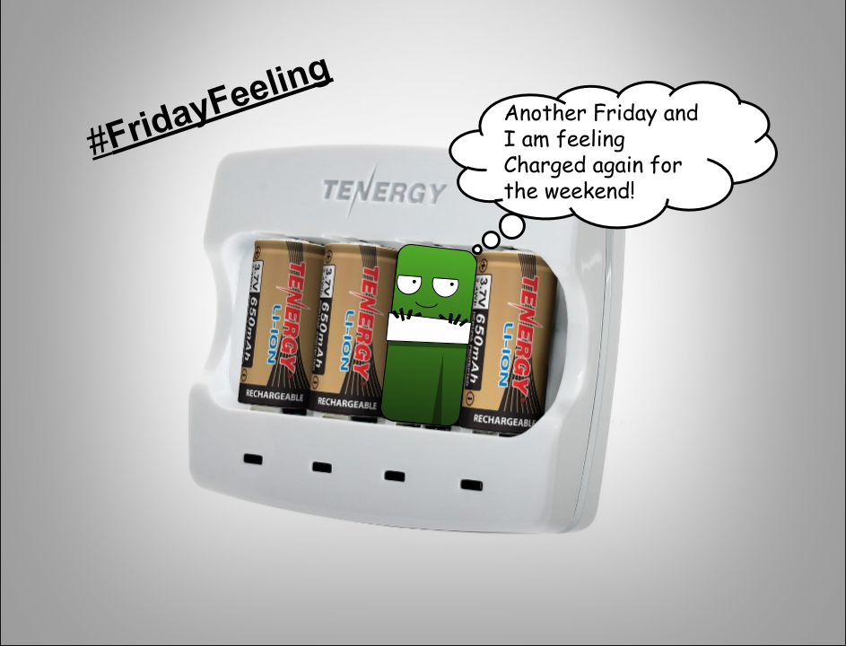 #FridayFeeling Feeling Charged again and ready for the weekend! https://t.co/arrefo0AYm