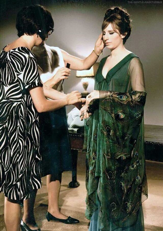 Costume test for Funny Girl. I still have that gown! #FlashbackFriday...