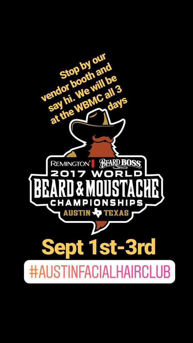 #texas#austinfacialhairclub #beardcompetition #friday#skullysctzbeardoil #mustachecompetition#mustache #mustachewax #mustaches #moustache <br>http://pic.twitter.com/P66caw4Wss