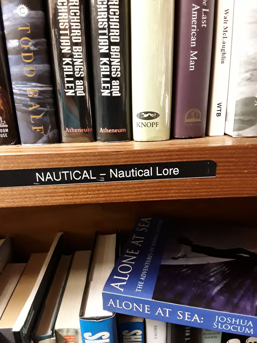 Nautical Lore and more on our shelves. Pick up your next adventure on the sea #booklovers #nauticalbooks #readingrocks #Titanic #AloneatSea<br>http://pic.twitter.com/yzh8gsceRE
