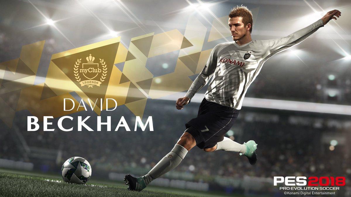 PES 2018 David Beckham